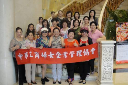 **13th Sep. 2011 : TWEA's delegation visited Shanghai Women's Federation and went sightseeing in Shanghai and Hangzhou. **2011-09-13舉行拜會上海市婦聯會暨上杭五日遊活動